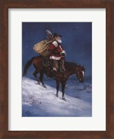 Framed Cowboy Christmas