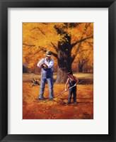 Framed Golden Memories