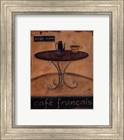 Framed Cafe Francais
