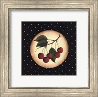 Framed 5 Cherries