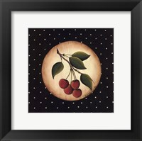 Framed 4 Cherries
