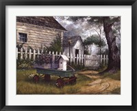 Framed Antique Wagon