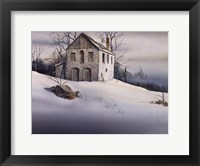 Gentle Snow Framed Print