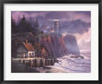 Framed Harbor Light Hideaway