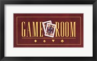 Framed Game Room