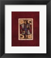 Framed King - red