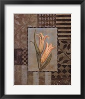 Large Lillies Framed Print