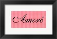 Framed Amore'