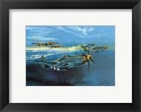 Framed P-51 Mustang