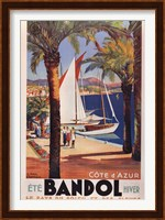 Framed Cote d'Azur (Bandol)