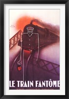 Framed Train Fantome