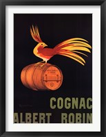 Framed Cognac Albert Robin