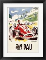 Framed Grand Prix de Pau