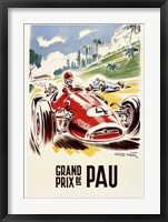 Framed Grand Prix de Pau