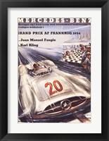 Framed Mercedes Benz