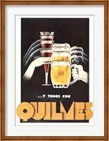 Framed Quilmes