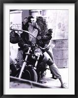 Framed Harley Davidson