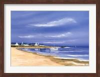 Framed Hameau Au Bord De La Baie