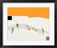 Framed La Route Du Desert I