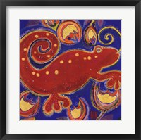 Framed Cameleon Rouge