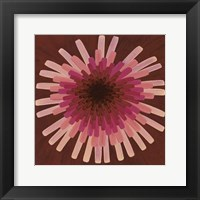 Framed Red Dandelion III - 2002