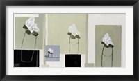 Framed Trois Bouquets De Tulipes