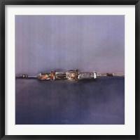 Framed Horizon Bleue