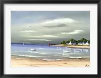 Framed Cote Bretonne I