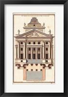 Framed Palladio Facade I