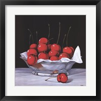 Framed Cherry Bowl