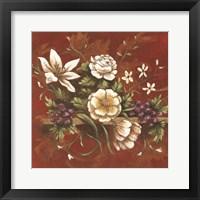 Framed Jaipur Blossoms II