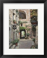 Framed Italian Country Village II