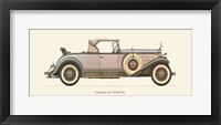 Framed Cadillac 1931
