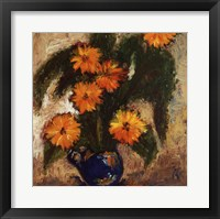Framed Los Girasoles II