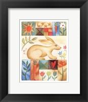 Framed Rabbit Quilt
