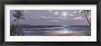 Framed Moonlit Paradise II