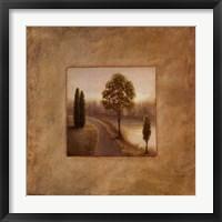 Isle Pathway I Framed Print