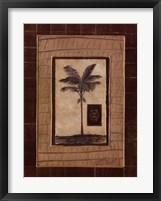 Framed Safari Palm II