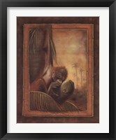 Framed Orangutan I