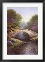 Framed Springtime Bridge