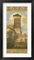 Framed Tuscan Panel I