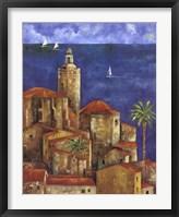 Framed Vista Azul