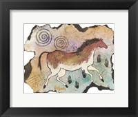 Framed Ancient Horse (S)