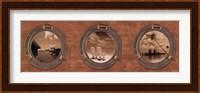 Framed Portholes to the World