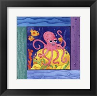 Framed Seafriends-Octopus
