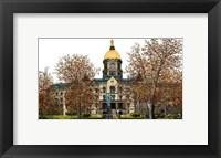 Framed Universtiy of Notre Dame