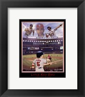 Framed Little Red Bird - Albert Pujols