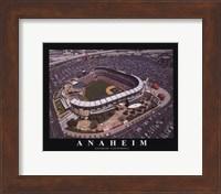 Framed Anaheim - Angel's Edison Field