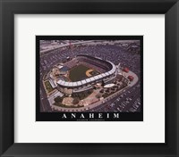 Framed Anaheim - Angel's Edison Field