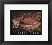 Framed Florida Field-U of Florida